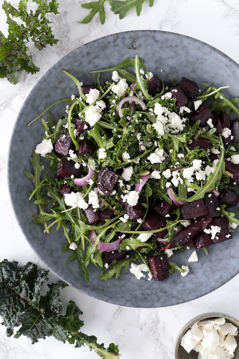 salat med rødbeder