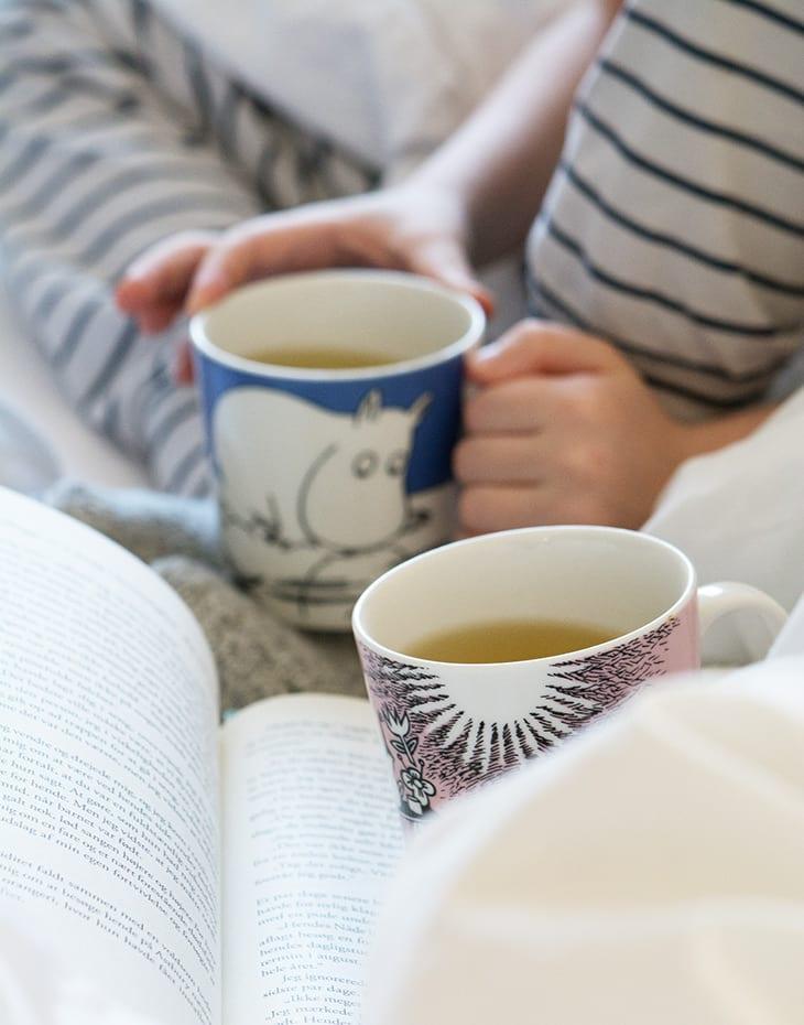 boglæsning i sengen