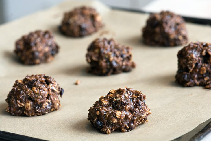cookies med sorte bønner
