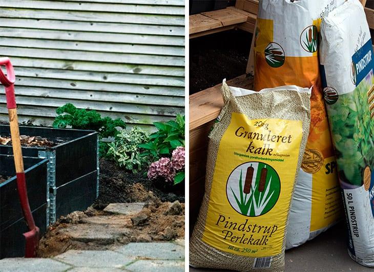 kompost og jordforbedring