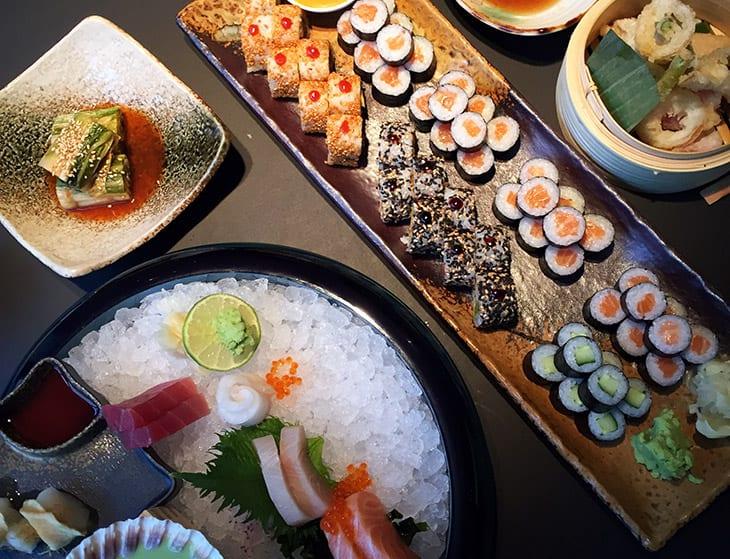 sushi sorø den første gang