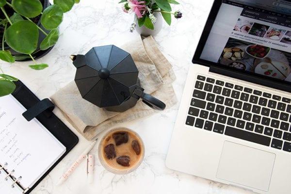 arbejdsdag som blogger