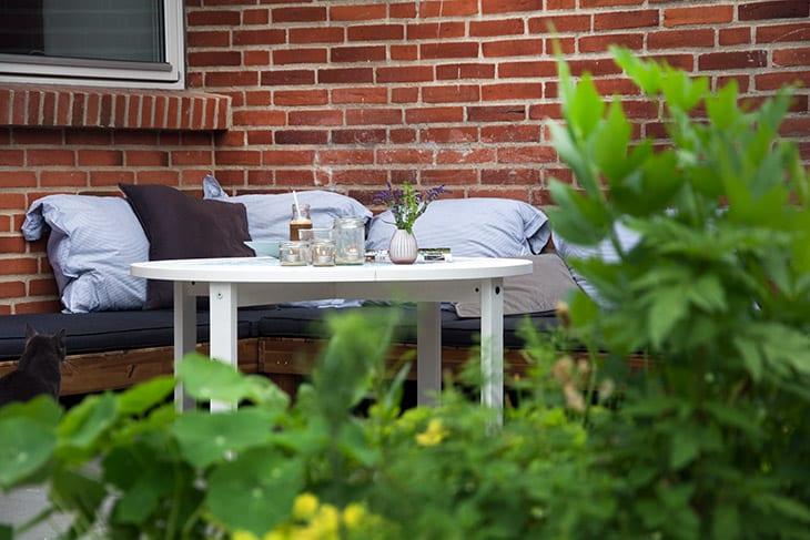 Kakkelbord   diy på nyt kakkelbord til udendørs brug i haven