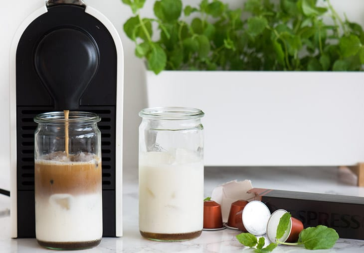 Nespresso iskaffe envivo lungo
