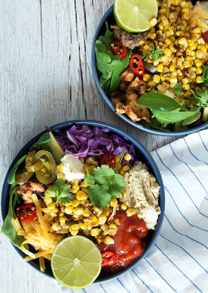 mexi bowl opskrift