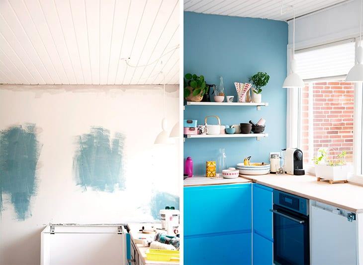 Køkken farve