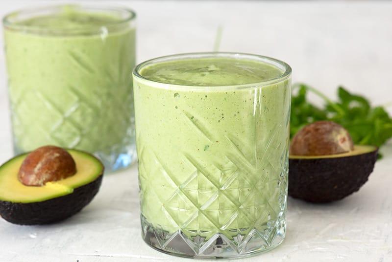 Avocado Smoothie - opskrift på skøn lækker smoothie med avocado