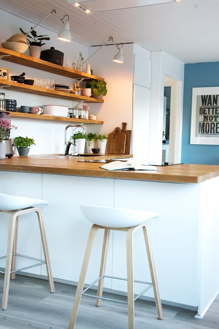 Mit nye køkken - med alle detaljer og beskivelser - læs med her
