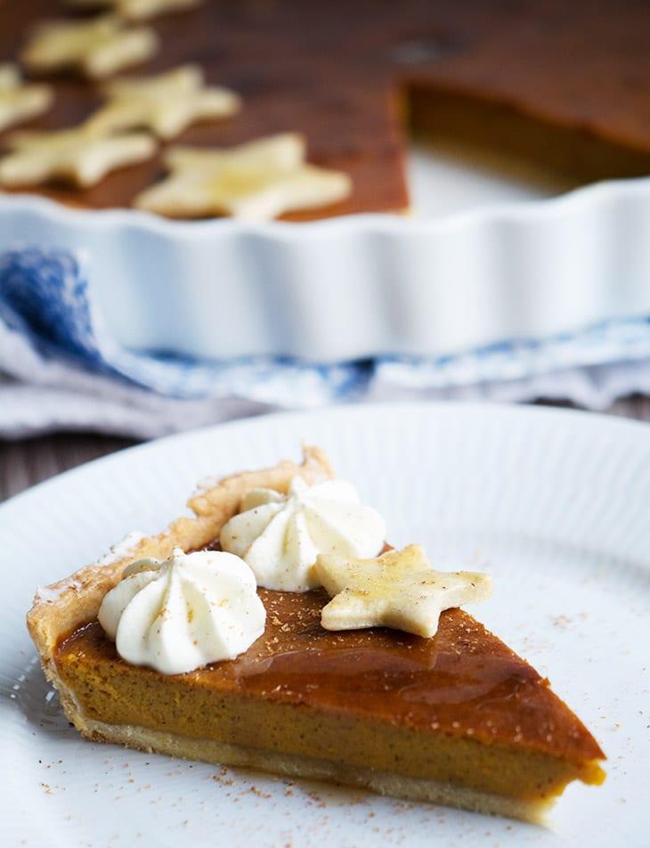pumpkin pie opskrift