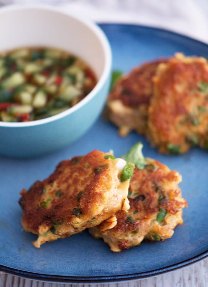 asiatiske fish cakes