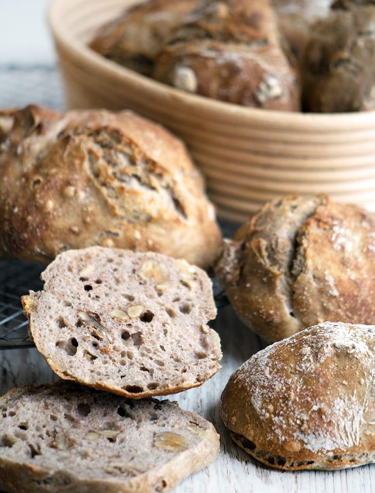 bageopskrifter på brød