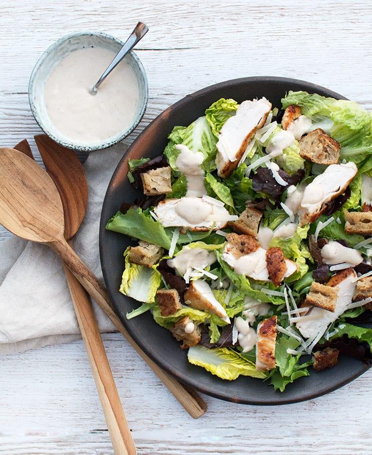 ceasar salat opskrift