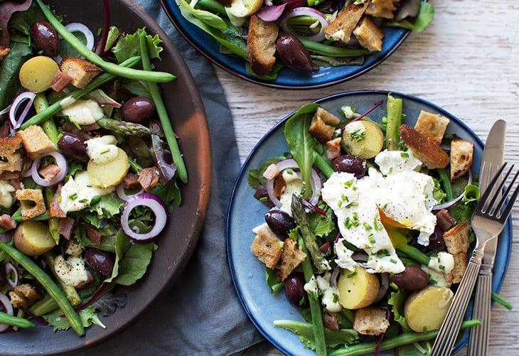 fransk salat
