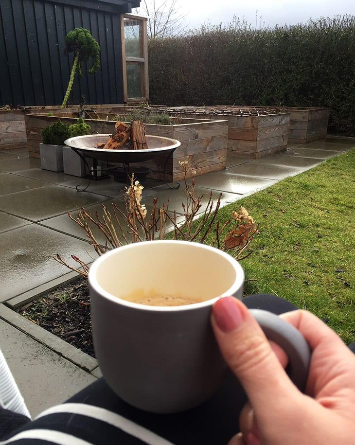 kaffe i haven