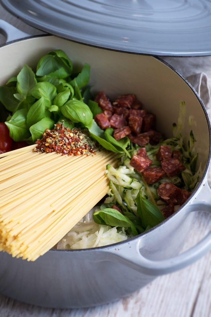 one pot pasta opskrifter
