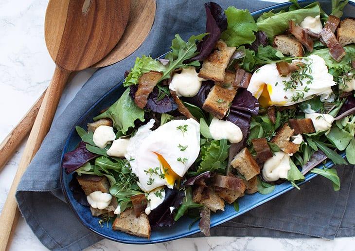 salat lyonnaise opskrift