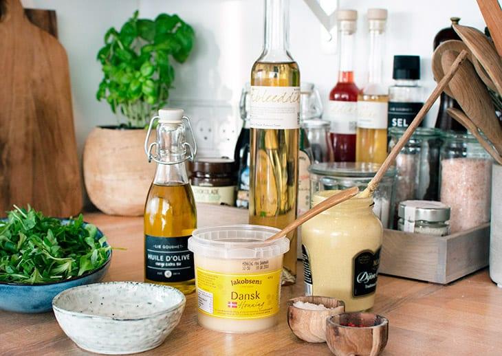 vinaigrette honning