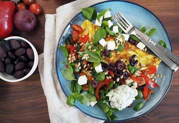 græsk omelet