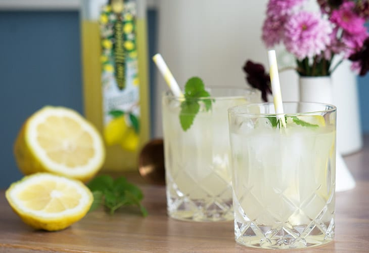 Cocktail limoncello gin