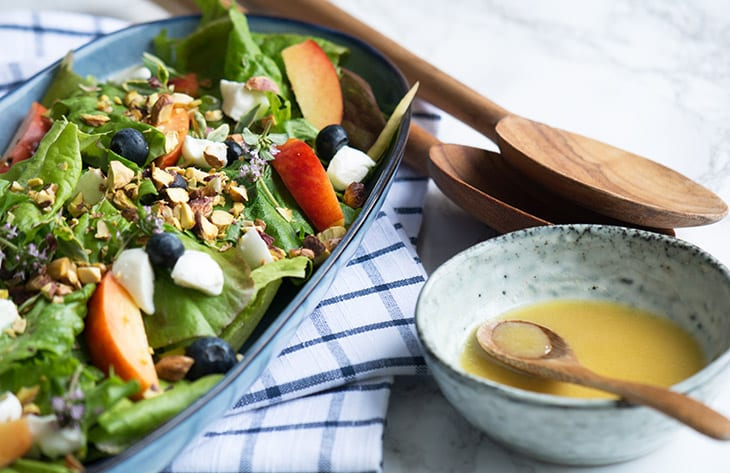 lækker grøn salat
