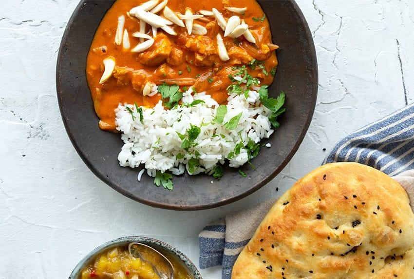 indisk mad opskrifter kylling