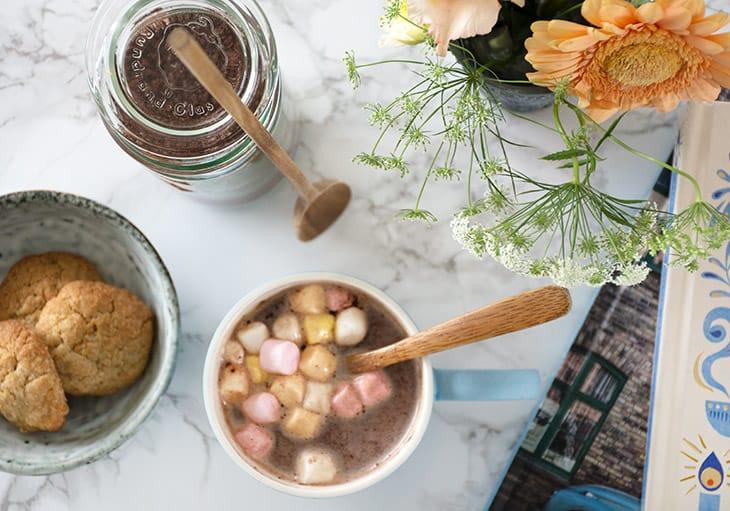 varm kakaopulver