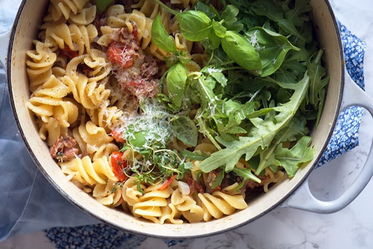 pastaskruer one pot