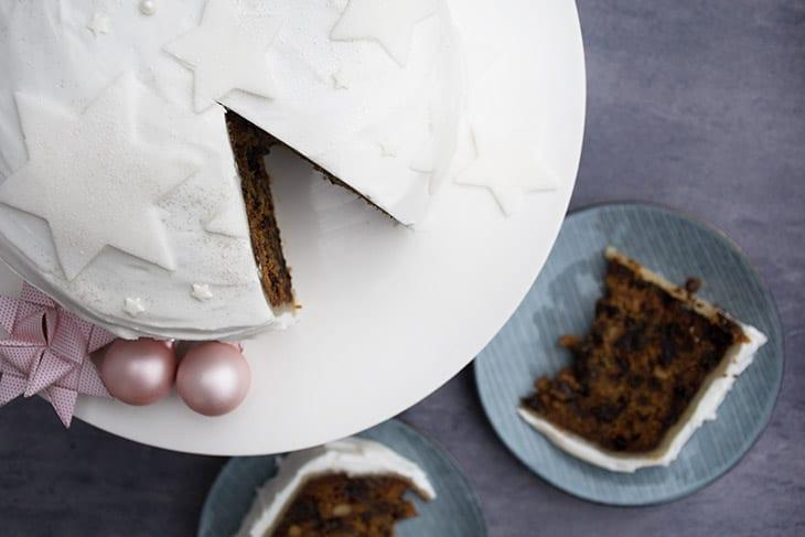 Engelsk julekage – english christmas cake