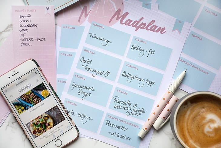 madplan værktøj