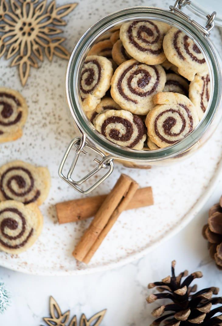 småkager spiral