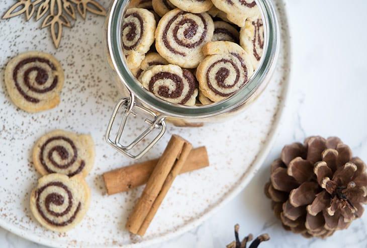 spiral småkager