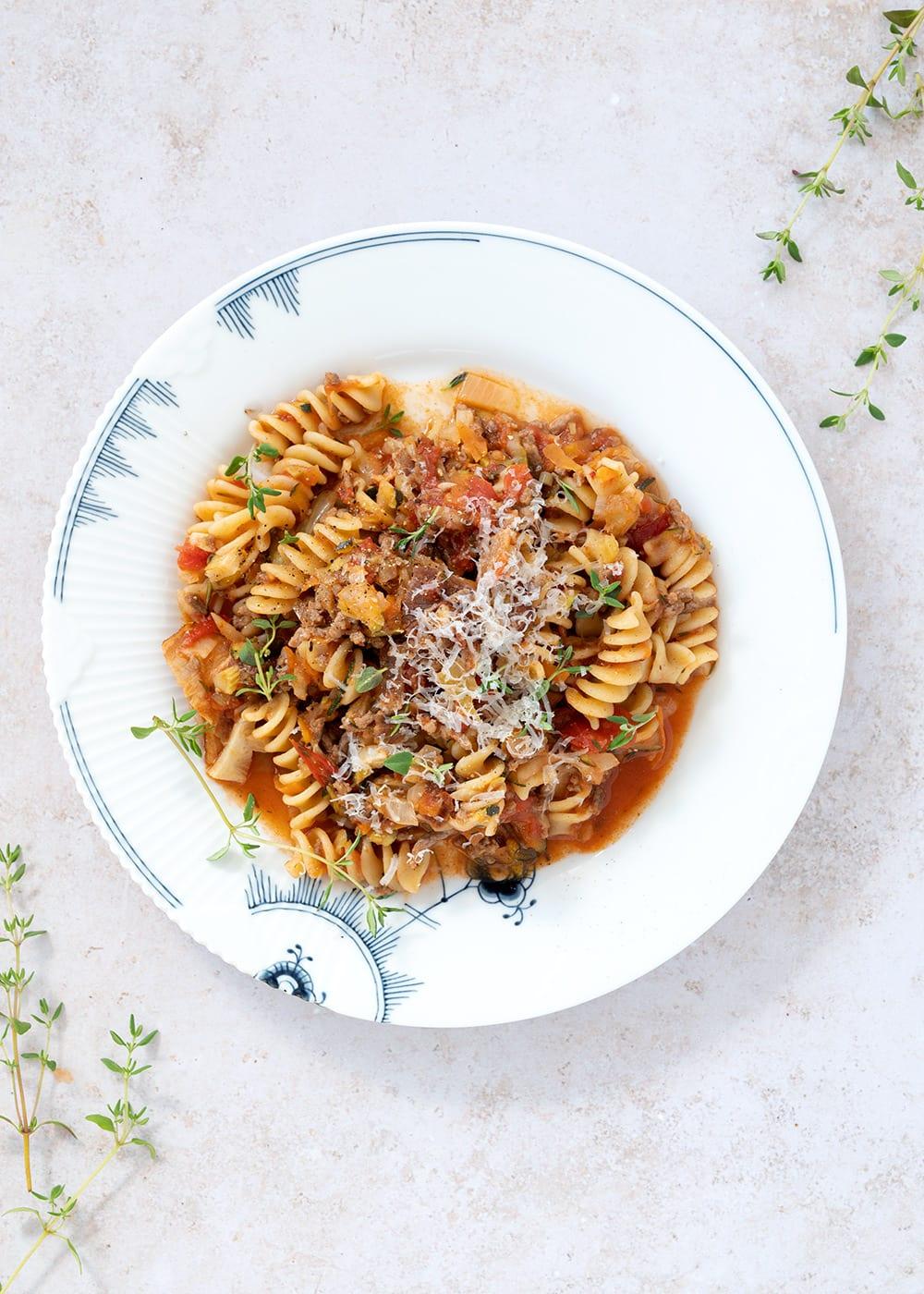 one pot pasta kødsauce