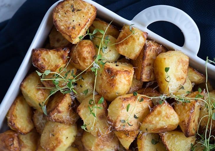 råstegte kartofler opskrift