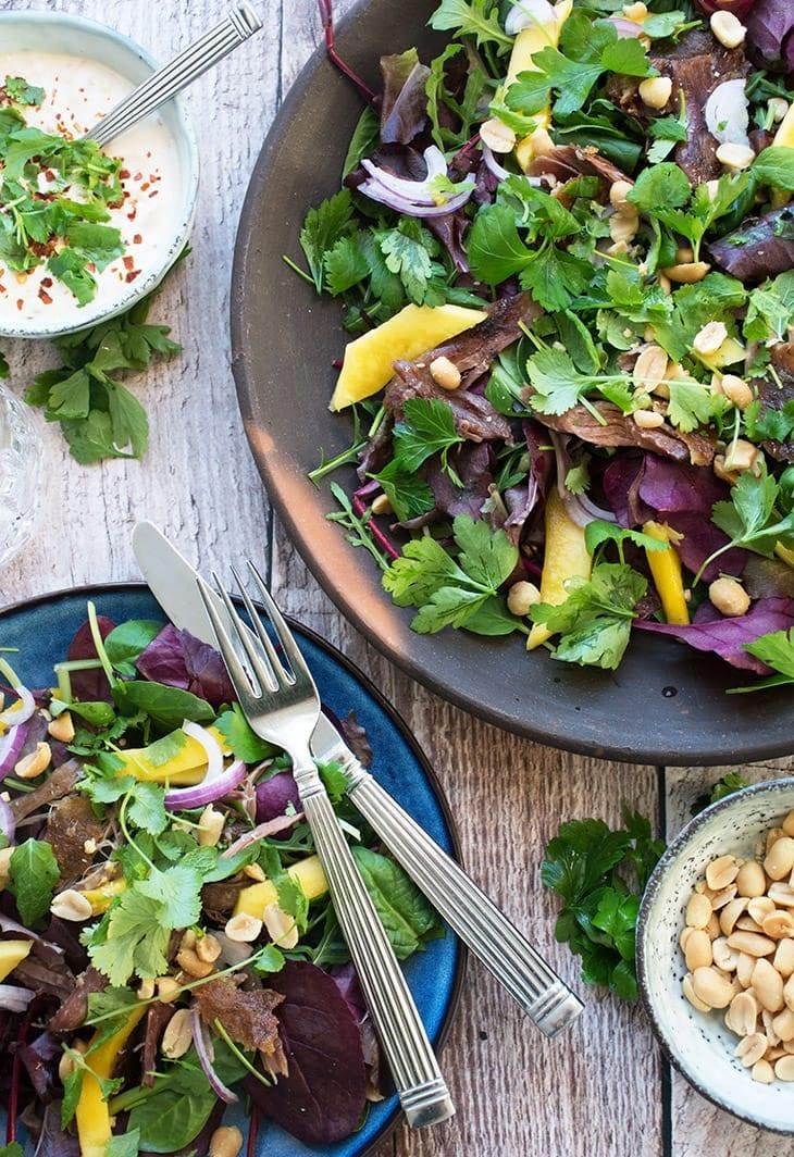 vietnamesisk salat and