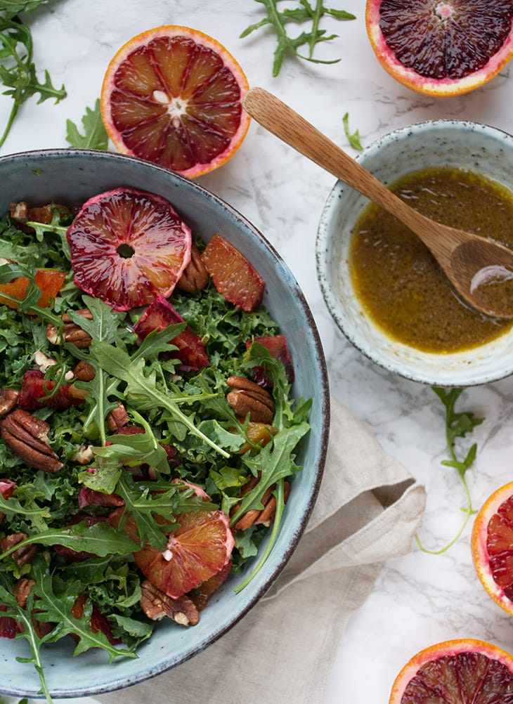 blodappelsinsalat