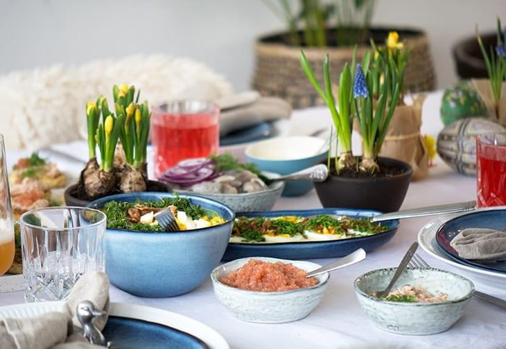 påske æggesalat