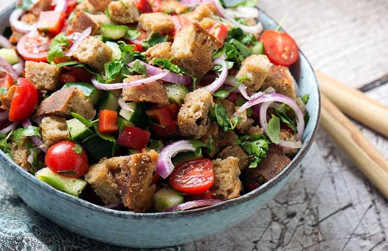 brødsalat libanesisk