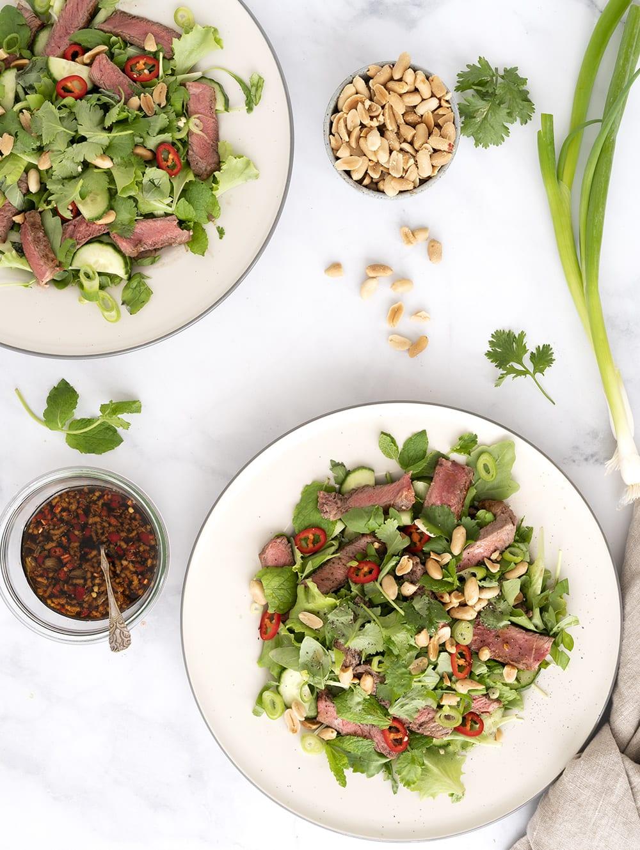 thai beef salat