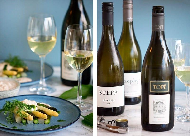hvidvin til asparges