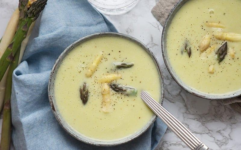 klassisk aspargessuppe