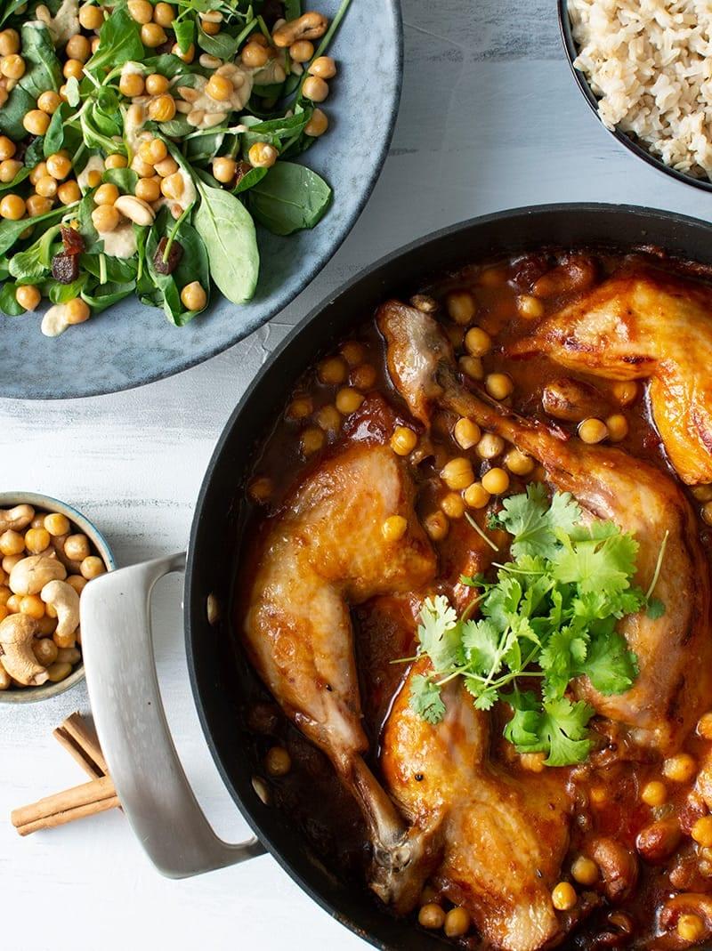 marrokansk kyllingegryde