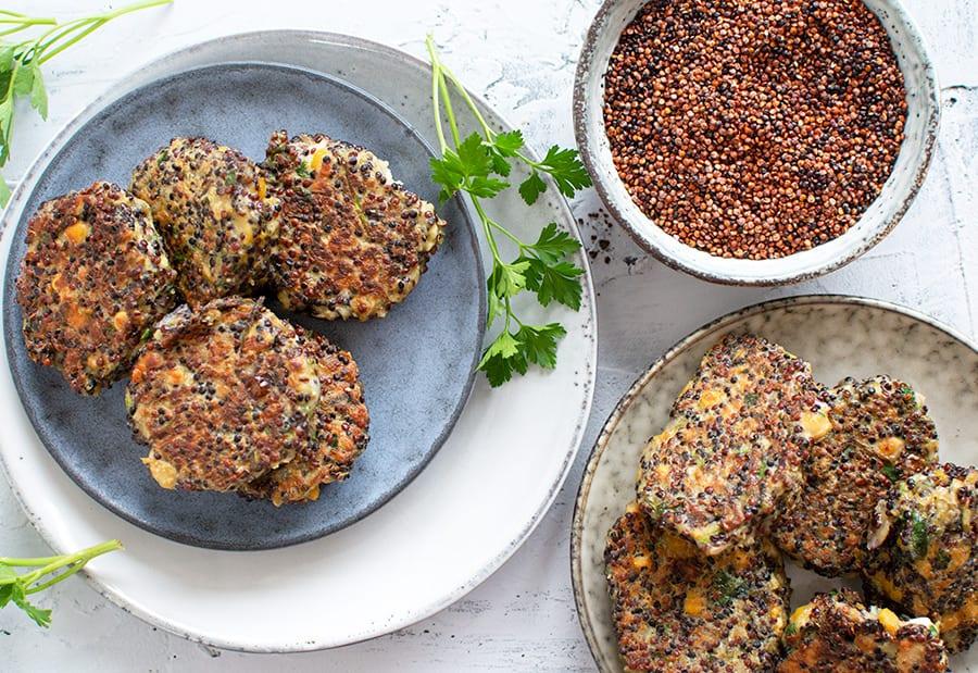 quinoa frikadeller