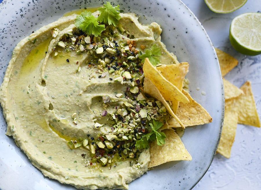 avocado hummus dip