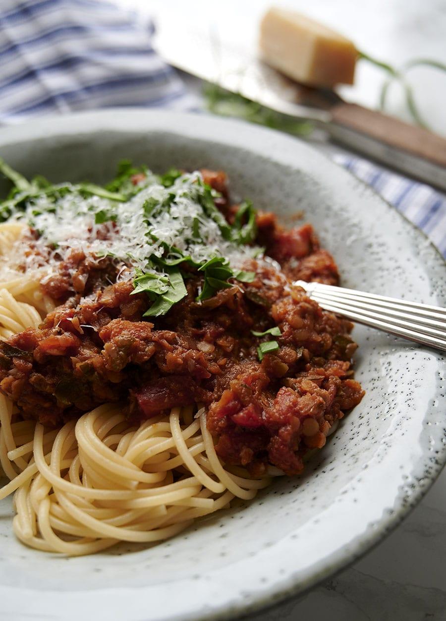 bolognese vegetar