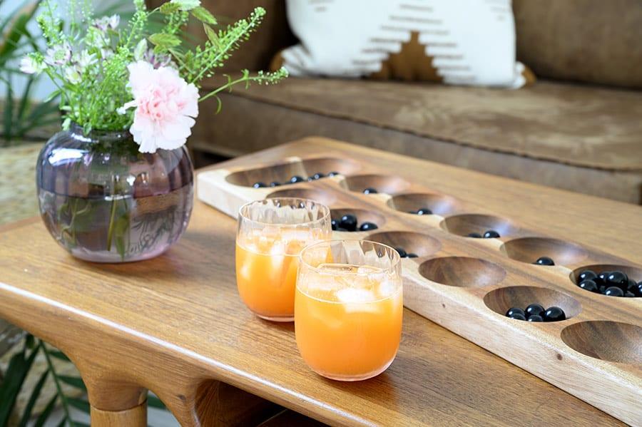 cocktail med gulerødder