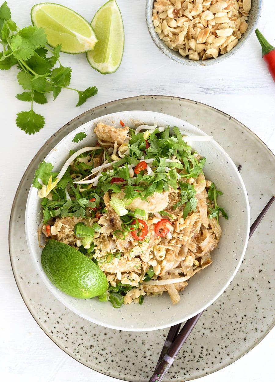 pad thai kylling