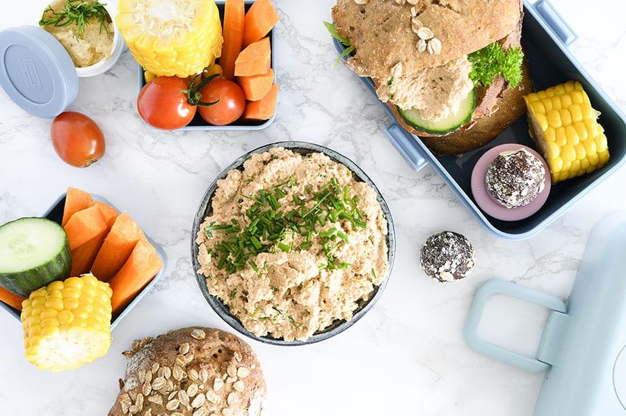 Torskerognssalat - opskrift på lækker og nem rørt torskerogn