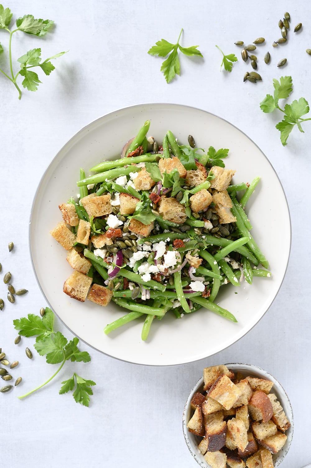 grønne bønner salat