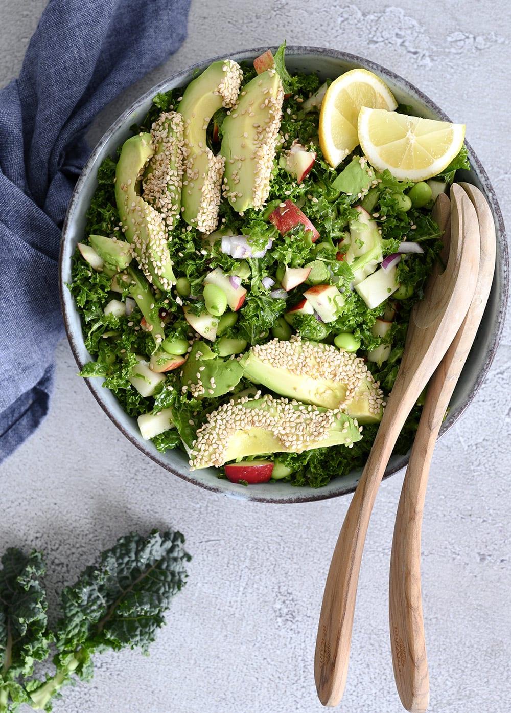 fyldig mættende salat