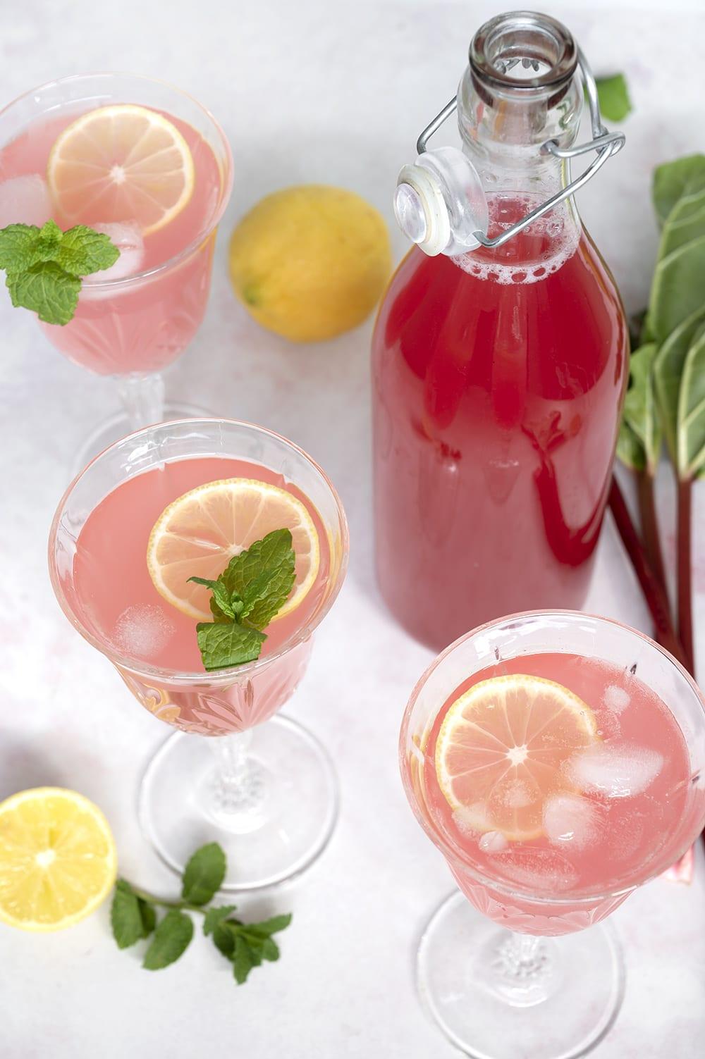 rabarber lemonade